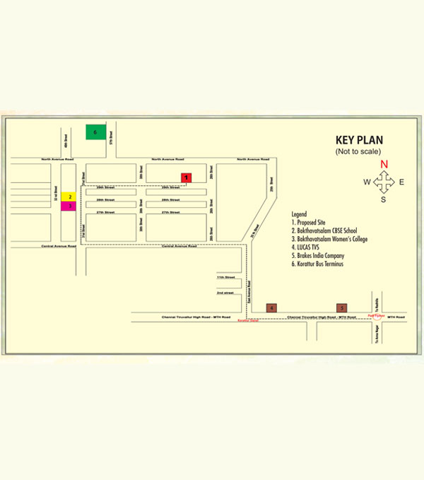 koratur-key-plan